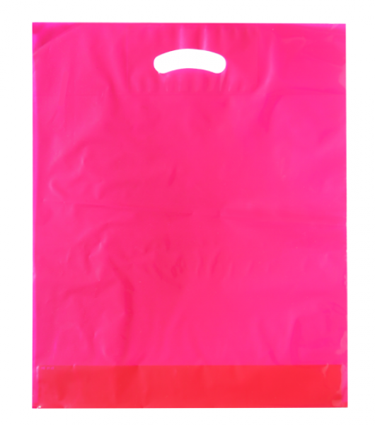 Standard Plastiktragetasche 38 x 45 + 5/5 cm