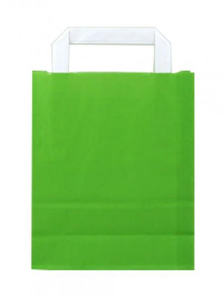 Standard Papiertragetasche 18 + 8 x 22 cm, grün