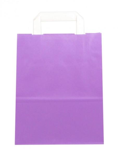 Standard Papiertragetasche 22 + 11 x 28 cm, violett