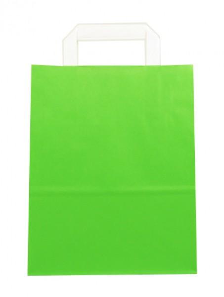 Standard Papiertragetasche 22 + 11 x 28 cm, grün