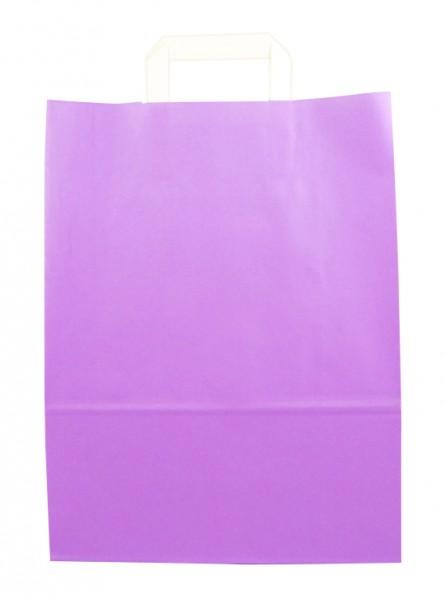 Standard Papiertragetasche 32 + 14 x 42 cm, violett