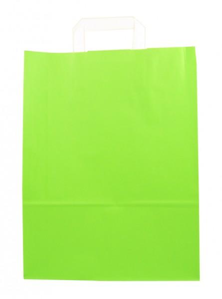 Standard Papiertragetasche 32 + 14 x 42 cm, grün