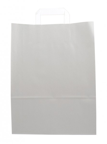 Standard Papiertragetasche 32 + 14 x 42 cm, grau
