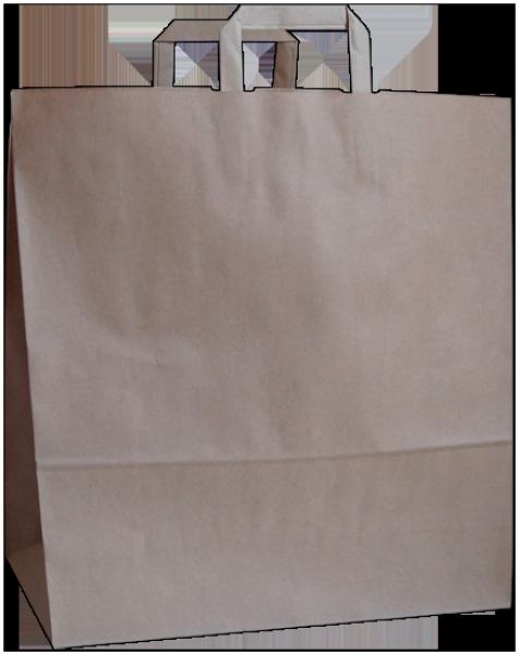 Standard Papiertragetasche 46 + 17 x 47 cm, unbedruckt